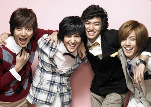 F4 (Boys Over Flowers)