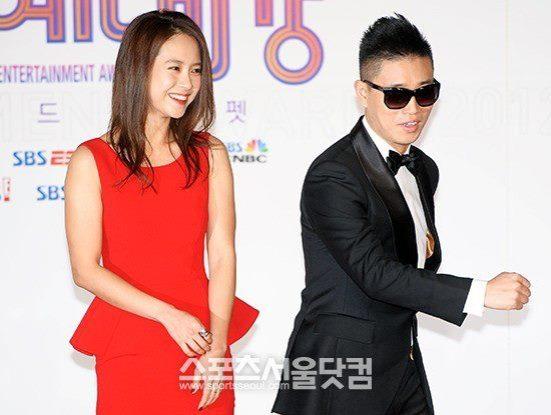 Gary and Ji Hyo Red Carpet