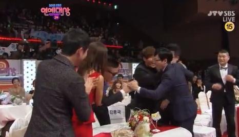 Gary and Ji Suk Jin Win 1