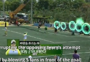 Super Football Yoo Jae Suk