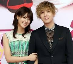 Hongki and Fujii Mina Couple
