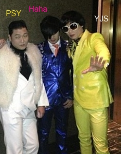 Psy and the gang