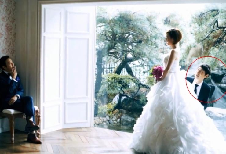 Kwang Soo Photo Bomb wedding