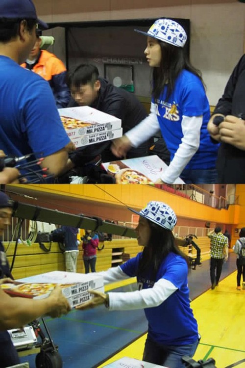 Ji Hyo Pizza 2