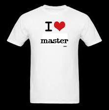 i love master