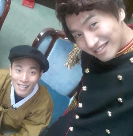Gary and Kwang Soo