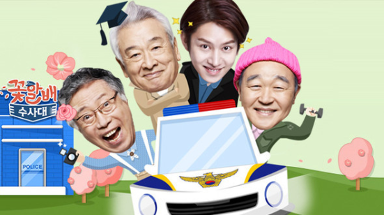 gramps over flowers