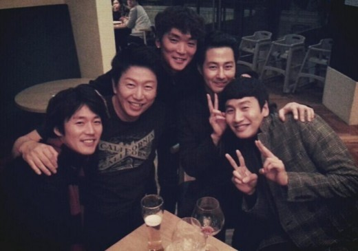 Kwang Soo and friends