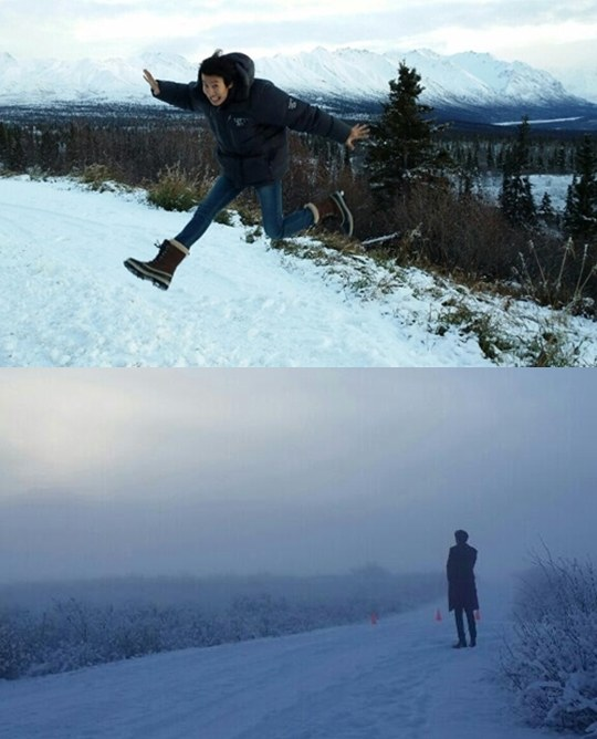 Lee Kwang Soo Alaska Trip