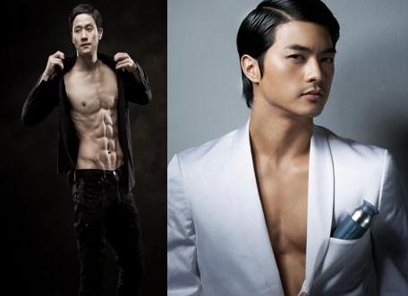 Kim Jin Hoon and Jung Woo