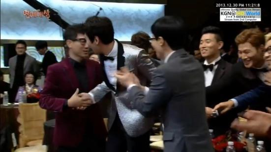 LKS Wins cast congrats