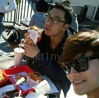 Jong Kook and his brother
