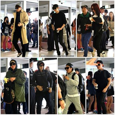 Running Man Australia Airport 11