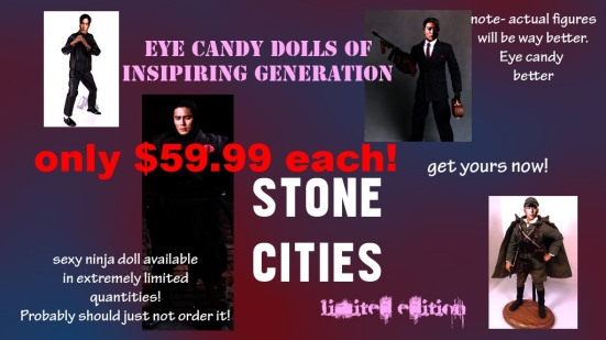 Stone Cities Eye Candy Dolls