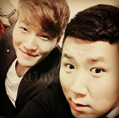 Kim Jong Kook and Manager