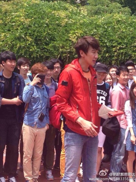 519 Running Man Filming BTS 4