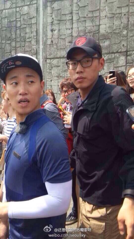 519 Running Man Filming BTS 5