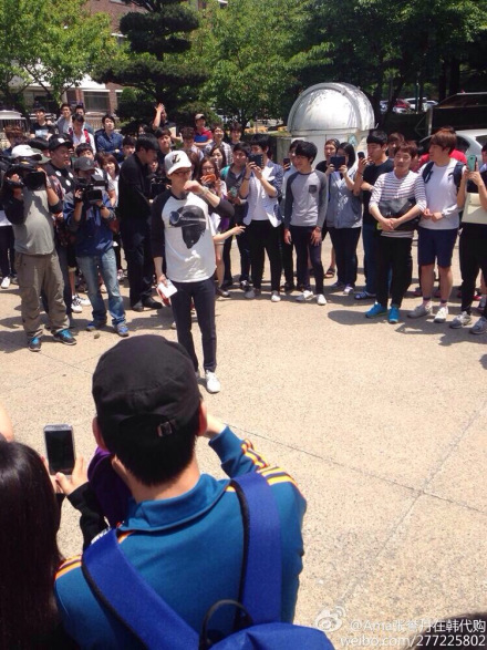 519 Running Man Filming BTS 6
