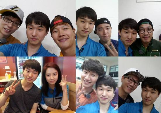 519 Running Man Filming BTS