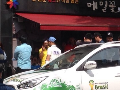 520 Running Man Filming BTS 10