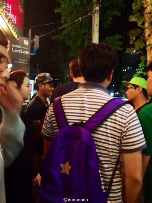 520 Running Man Filming BTS 3