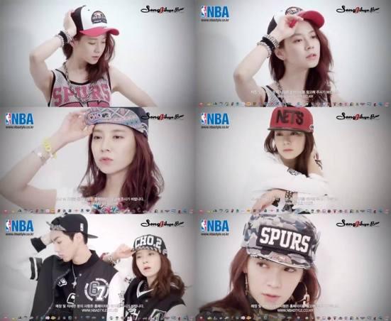 Ji Hyo NBA 1