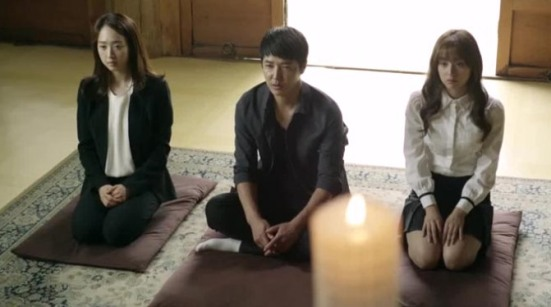 Gap Dong mourning Tae Oh