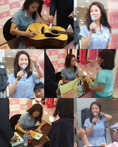 Ji Hyo Yesse fansigning