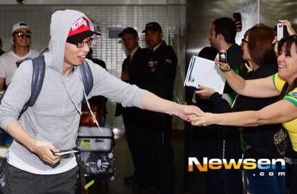 Yoo Jae Suk Haha Brazil 2