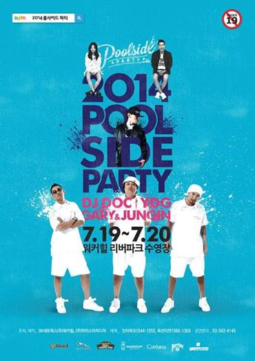 Kang gary Poolside party