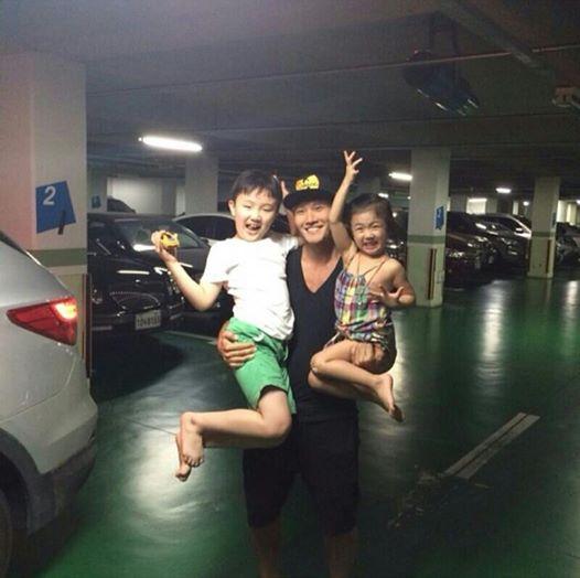 Kim Jong Kook and Niece and Nephew