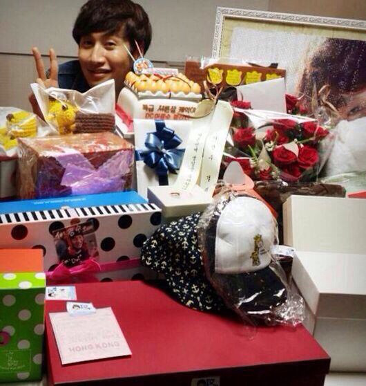 Kwang Soo thank you for all the gifts