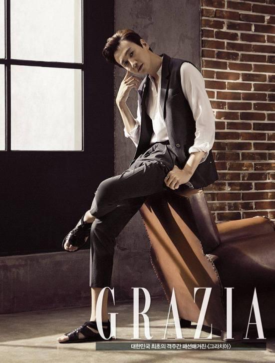 Lee Kwang Soo Grazia 2