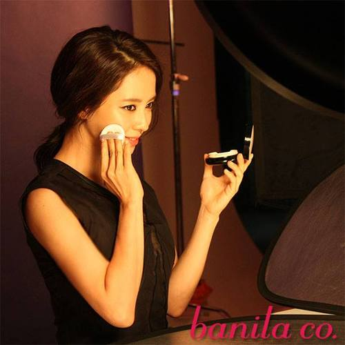 Ji hyo for Banila