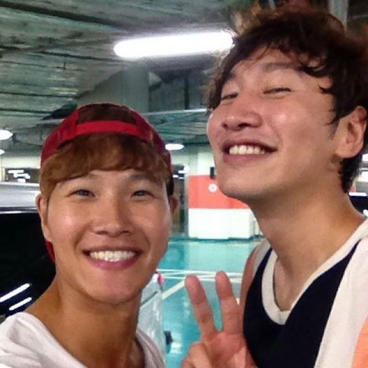 KJK Instagram with Lee Kwang Soo