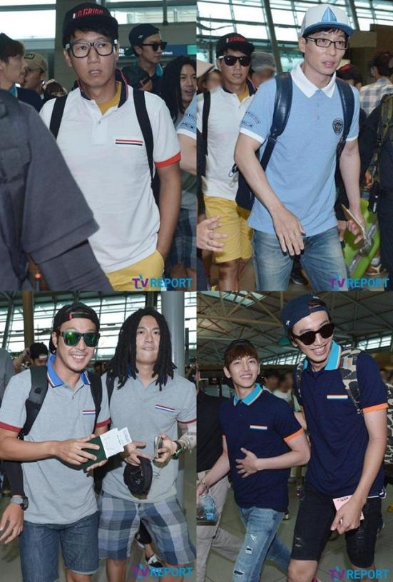 Running Man Taiwan Airport 1