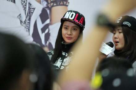 Song Ji Hyo for NBA 8152014 10