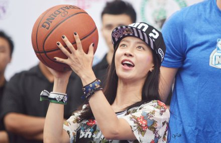 Song Ji Hyo for NBA 8152014 6