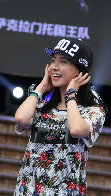 Song Ji Hyo for NBA 8152014 7