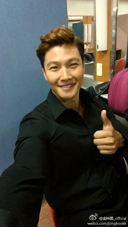 KJK Weibo 1st post